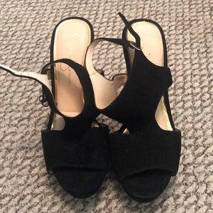 Jessica Simpson suede heels